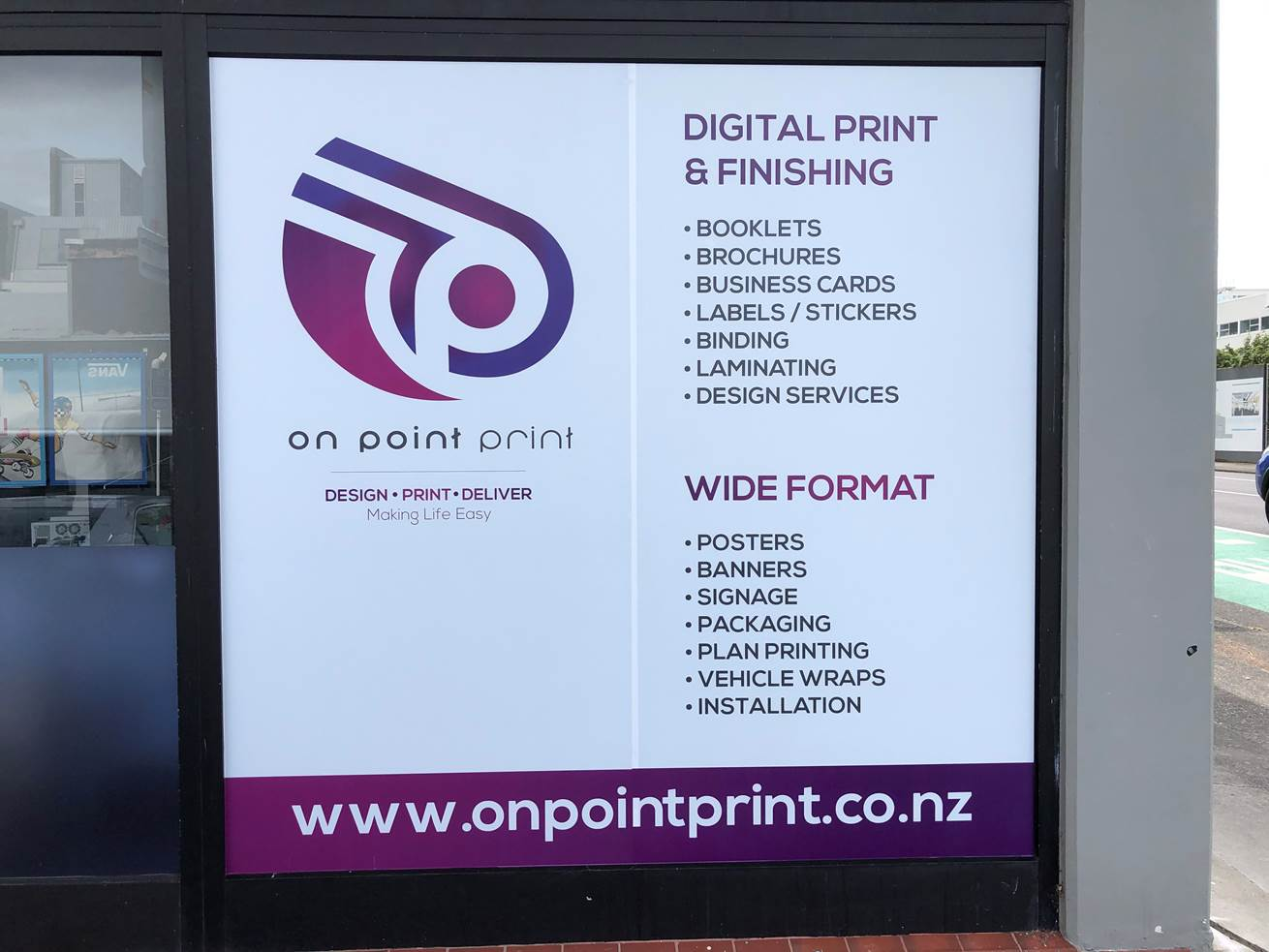 ON POINT PRINT